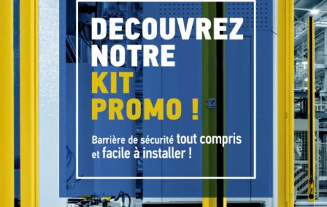Découvrez notre promotion kit de mise en sécurité machine !